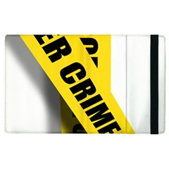 Internet Crime Cyber Criminal Apple iPad 3/4 Flip Case