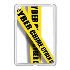 Internet Crime Cyber Criminal Apple iPad Mini Case (White)