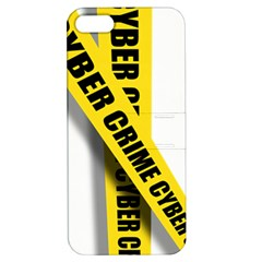 Internet Crime Cyber Criminal Apple iPhone 5 Hardshell Case with Stand
