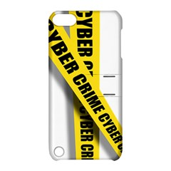 Internet Crime Cyber Criminal Apple iPod Touch 5 Hardshell Case with Stand
