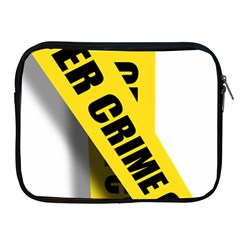 Internet Crime Cyber Criminal Apple iPad 2/3/4 Zipper Cases