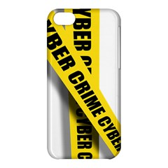 Internet Crime Cyber Criminal Apple iPhone 5C Hardshell Case