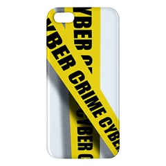 Internet Crime Cyber Criminal iPhone 5S/ SE Premium Hardshell Case