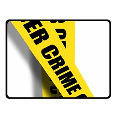 Internet Crime Cyber Criminal Double Sided Fleece Blanket (Small)