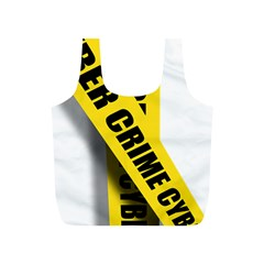 Internet Crime Cyber Criminal Full Print Recycle Bags (S)