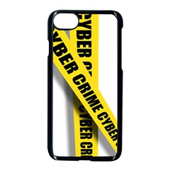 Internet Crime Cyber Criminal Apple iPhone 7 Seamless Case (Black)