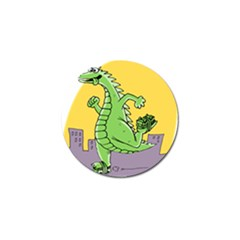 Godzilla Dragon Running Skating Golf Ball Marker (10 pack)
