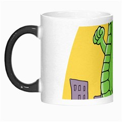 Godzilla Dragon Running Skating Morph Mugs