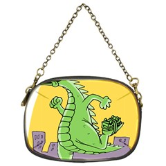Godzilla Dragon Running Skating Chain Purses (One Side)