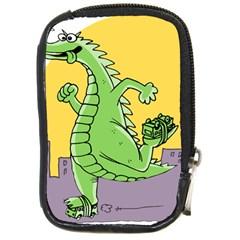 Godzilla Dragon Running Skating Compact Camera Cases