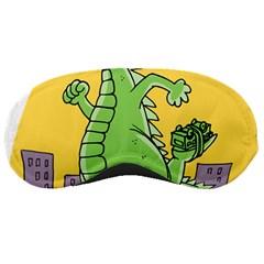 Godzilla Dragon Running Skating Sleeping Masks