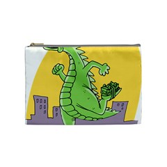 Godzilla Dragon Running Skating Cosmetic Bag (Medium)
