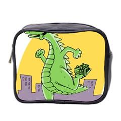 Godzilla Dragon Running Skating Mini Toiletries Bag 2-Side