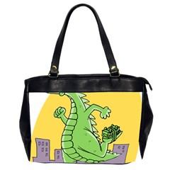 Godzilla Dragon Running Skating Office Handbags (2 Sides)