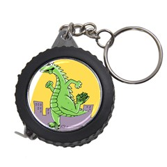 Godzilla Dragon Running Skating Measuring Tapes