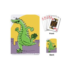 Godzilla Dragon Running Skating Playing Cards (Mini)