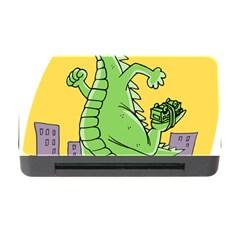 Godzilla Dragon Running Skating Memory Card Reader with CF