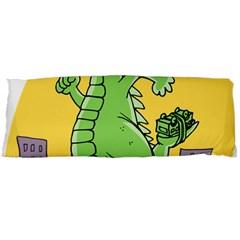 Godzilla Dragon Running Skating Body Pillow Case (Dakimakura)