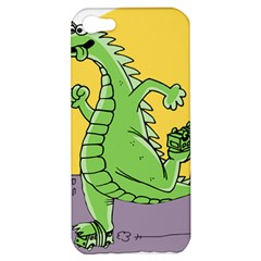 Godzilla Dragon Running Skating Apple iPhone 5 Hardshell Case