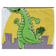 Godzilla Dragon Running Skating Cosmetic Bag (XXXL)