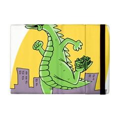 Godzilla Dragon Running Skating Apple iPad Mini Flip Case