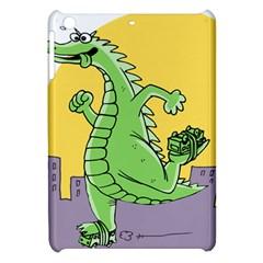 Godzilla Dragon Running Skating Apple iPad Mini Hardshell Case