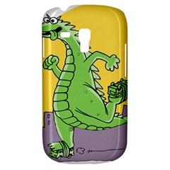Godzilla Dragon Running Skating Galaxy S3 Mini