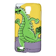 Godzilla Dragon Running Skating Galaxy S4 Active