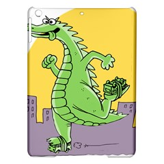 Godzilla Dragon Running Skating iPad Air Hardshell Cases