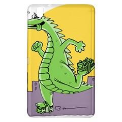 Godzilla Dragon Running Skating Samsung Galaxy Tab Pro 8.4 Hardshell Case