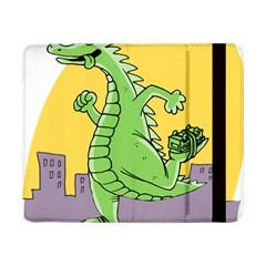 Godzilla Dragon Running Skating Samsung Galaxy Tab Pro 8.4  Flip Case