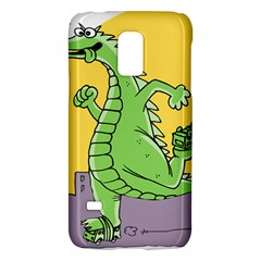 Godzilla Dragon Running Skating Galaxy S5 Mini