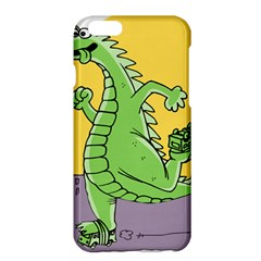 Godzilla Dragon Running Skating Apple iPhone 6 Plus/6S Plus Hardshell Case