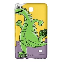 Godzilla Dragon Running Skating Samsung Galaxy Tab 4 (8 ) Hardshell Case