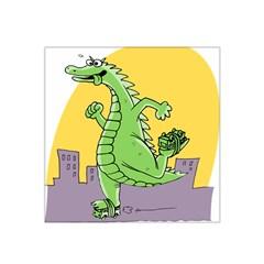 Godzilla Dragon Running Skating Satin Bandana Scarf