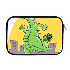 Godzilla Dragon Running Skating Apple MacBook Pro 17  Zipper Case