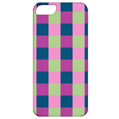 Pink Teal Lime Orchid Pattern Apple iPhone 5 Classic Hardshell Case