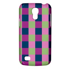 Pink Teal Lime Orchid Pattern Galaxy S4 Mini