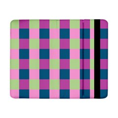 Pink Teal Lime Orchid Pattern Samsung Galaxy Tab Pro 8.4  Flip Case