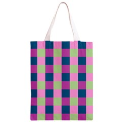 Pink Teal Lime Orchid Pattern Classic Light Tote Bag