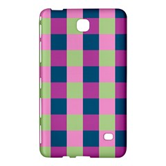 Pink Teal Lime Orchid Pattern Samsung Galaxy Tab 4 (8 ) Hardshell Case
