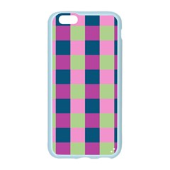 Pink Teal Lime Orchid Pattern Apple Seamless iPhone 6/6S Case (Color)