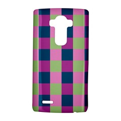 Pink Teal Lime Orchid Pattern LG G4 Hardshell Case