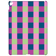 Pink Teal Lime Orchid Pattern Apple iPad Pro 12.9   Hardshell Case