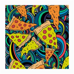 Pizza Pattern Medium Glasses Cloth (2-Side)