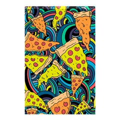Pizza Pattern Shower Curtain 48  x 72  (Small)