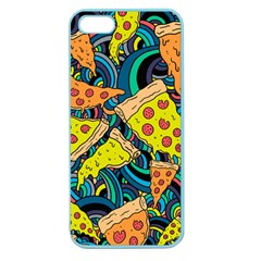 Pizza Pattern Apple Seamless iPhone 5 Case (Color)