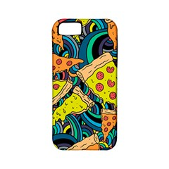 Pizza Pattern Apple iPhone 5 Classic Hardshell Case (PC+Silicone)