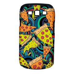 Pizza Pattern Samsung Galaxy S III Classic Hardshell Case (PC+Silicone)