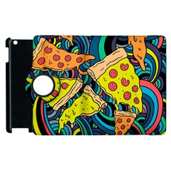 Pizza Pattern Apple iPad 3/4 Flip 360 Case
